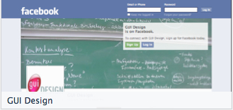 Facebook GUI Design pic